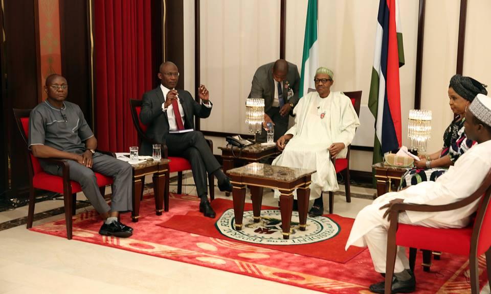 President Buhari first Presidential Media 30 December 2015 (8)