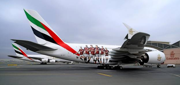 Emirates Showcases its Sponsorship of AC Milan