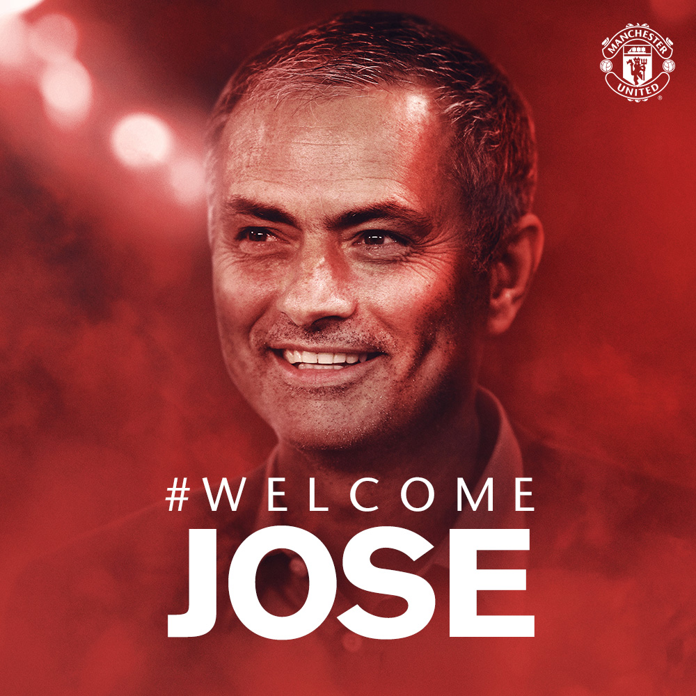 José Mourinho appointed Manchester United manager