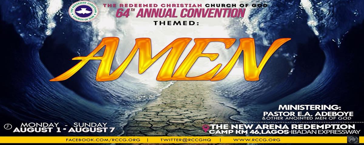 RCCG 64th Annual Convention 2016