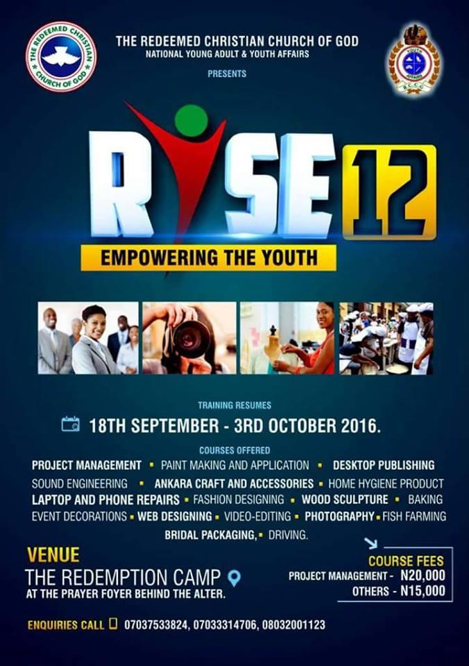 RCCG RISE 12 2016