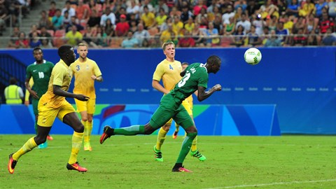 RIO 2016 Nigeria vs Sweden Football