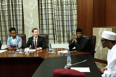 President Buhari receives Facebook founder Mark Zuckerberg 4