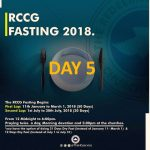 Day 5: RCCG 2018 fasting: (15th January) Prayer Points » Perspective
